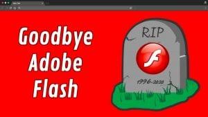 rip adobe flash 300x169 - Adobe Flash Opphører i slutten av 2020